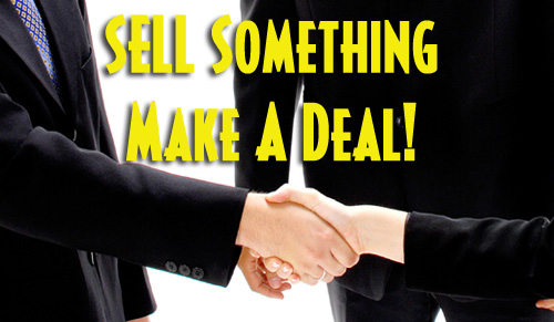 Need Money? Sell Stuff – Yours, Mine, or Theirs