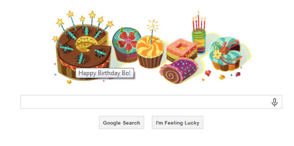 Wow! Thanks Google for the Birthday Wish!